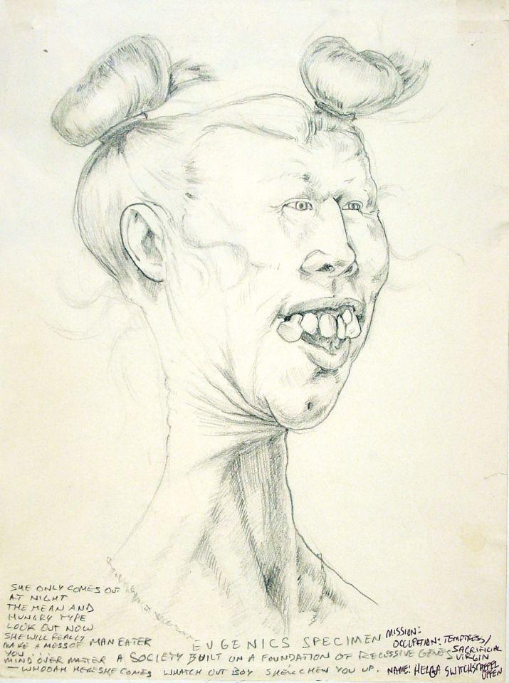 Helga: Character Sketch, Armageddon 2112