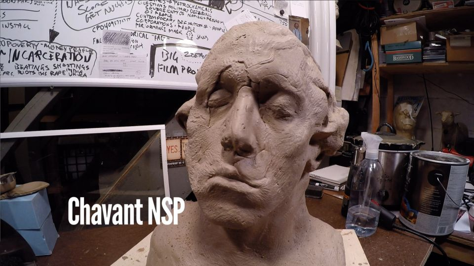 Sculpting with Chavant NSP Clay